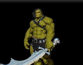 hulk skaar 3D printable model