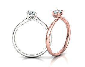 3D printable model Engagement ring paradise 121 version2