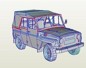 UAZ 3151 3D asset