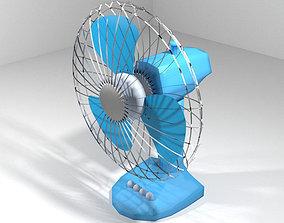 3D model Fan - Desktop