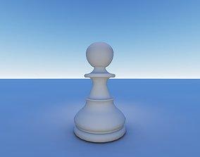 king 3D printable model Chess Pawn