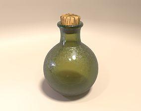 Flask Bottle 3D model