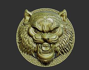 3D print model decoration tiger head