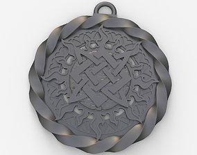 3D printable model Slavic pendant