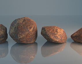 Simple Rock Pack 3D model
