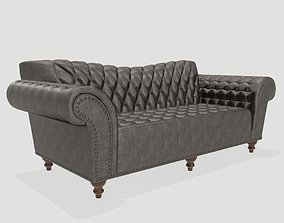Dutches Sofa Gray 3D model