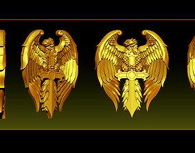 Eagle Pendant jewelry 3D printable model