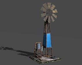 3D model Shanty windmill