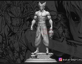 Garou - One punch Man - Fan Art - Realistic 3D print model