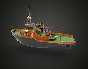 Tugboat II 3D print model