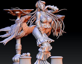3D printable model miniatures Albedo Overlord