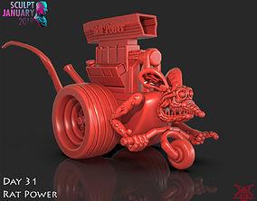 Rat Power Timelapse and Model