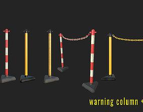 3D model Warning column