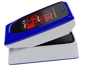 Finger Pulse Oximeter 3D