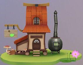 3D model Potion Shop