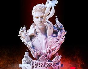 B3DSERK HellBlazer Constantine 3d Bust ready for printing