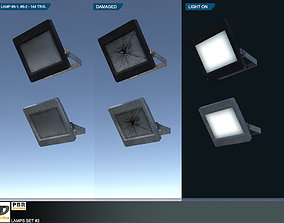 Lamps Set 2 3D asset