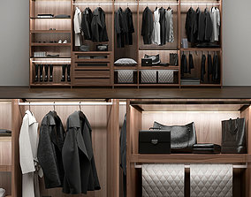 wardrobe Poliform 3D