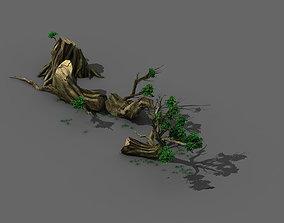 3D Plant - broken tree 01