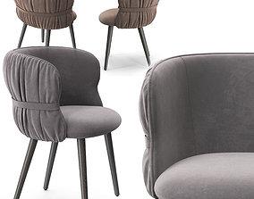 Potocco Coulisse armchair 3D model