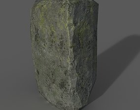 3D asset old stone