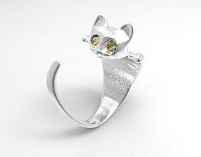 3D print model CAt ring 2