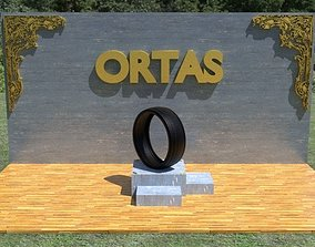 3D model ORTAS TIRE PACK 4 INCLUDING 5 GAME READY TIRES