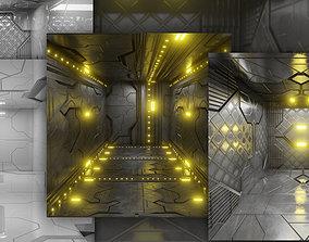 3D model Sci Fi Interiors Modular
