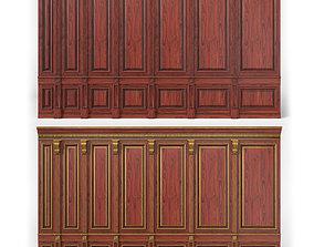 wooden panel 02 04 3D