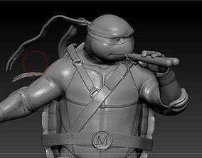 3D print model Michealangelo from TMNT