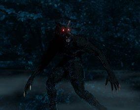 My Werewolf 3D asset animated