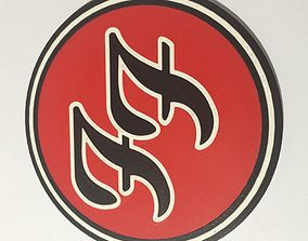 3D printable model Foo Fighters Logo Coaster
