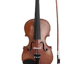 3D asset realtime violin
