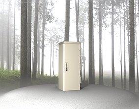 Electrical Distribution Cabinet 32 3D asset