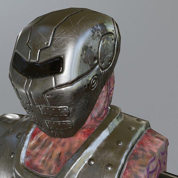 Cyborg Monster Robot