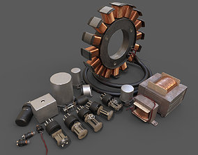 Electronics component Pack 3D model