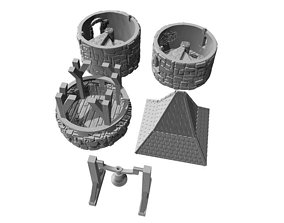 Belltower -STL File- 3D print model