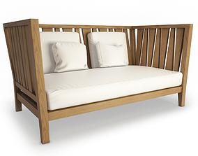 3D York Sofa 2 Seaters Unopiu