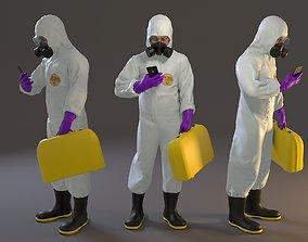 3D model Biohazard Suit Male ACC 2130 005