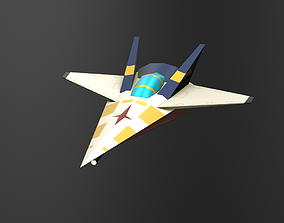3DP Spaceships Collection - The Vina low-poly