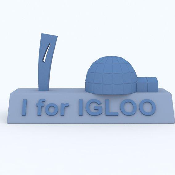 I for Igloo Model