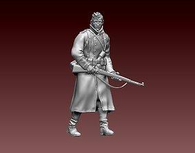 German soldier glove 3D print model