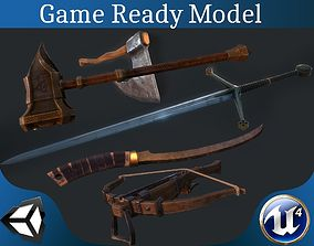 Weapon collection 3D model