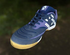 footwear game-ready Sport shoe low poly 3D model