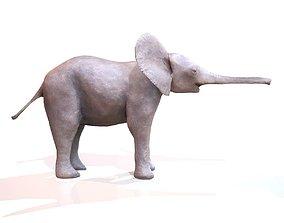 3D model Baby Elephant
