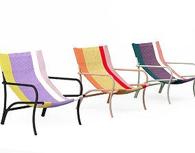 Ames Maraca lounge chair 3D