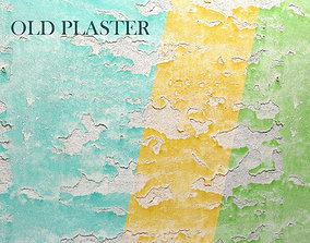 Old plaster 3D