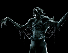 3D Vampire Zbrush coupe