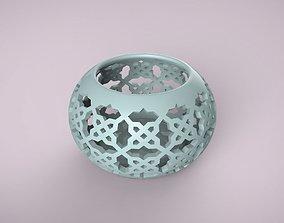 3D printable model stl candlestick