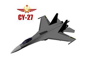 Su-27 3D model